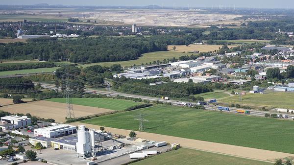 Interkommunales Gewerbe- und Industriegebiet Talbenden/Rurbenden