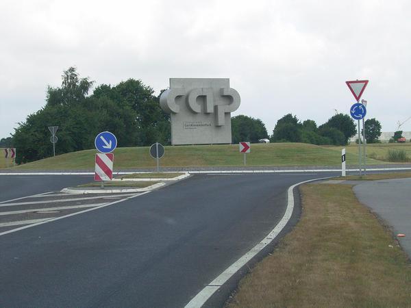 Eingangstor zum Carl-Alexander Park