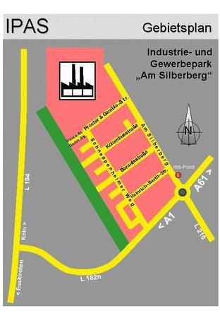IPAS - Übersicht mit Straßennamen